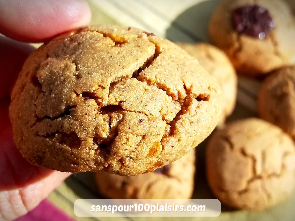 """Cookies """"cocooning"""" à la châtaigne – sans sucre ajouté"""