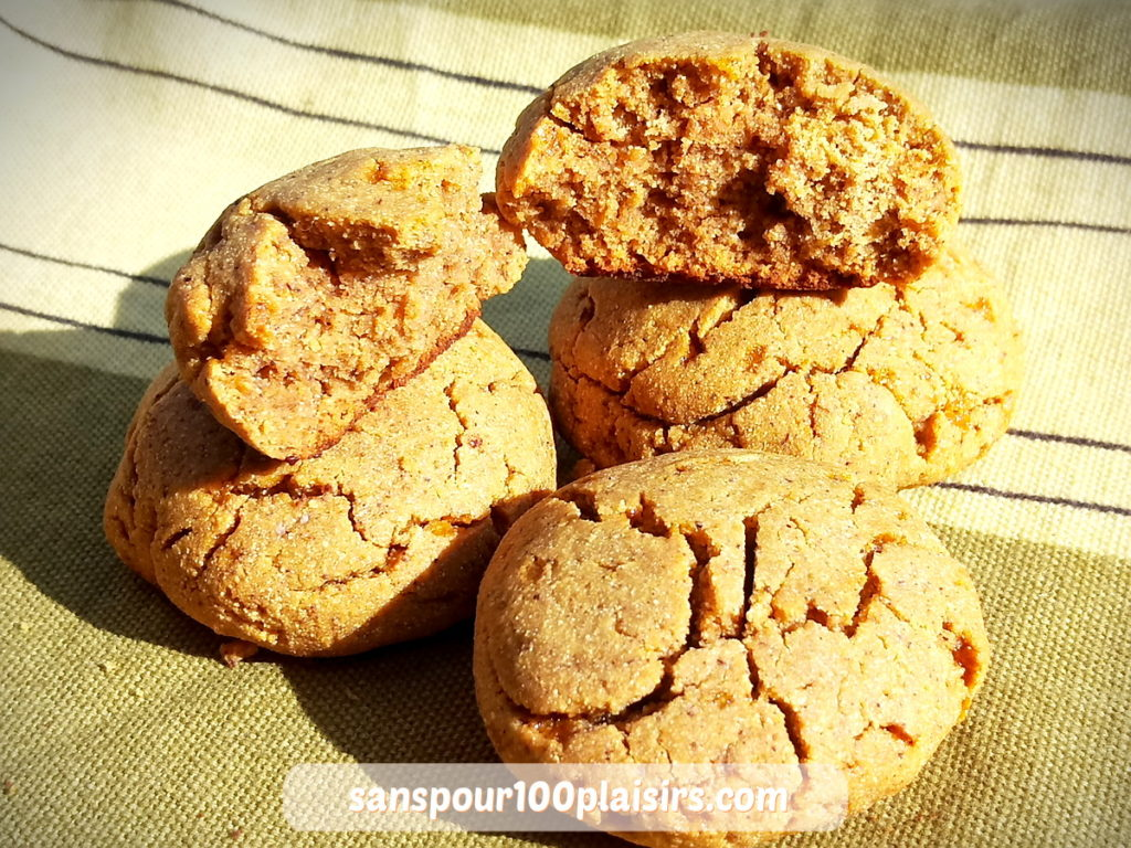 cookies chataigne sans sucre, sanspour100plaisirs.com