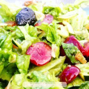 le temps des cerises, salade composée , sanspour100plaisirs.com
