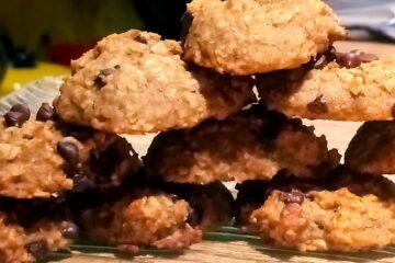 Cookies moelleux à la banane et avoine, sanspour100plaisirs.com